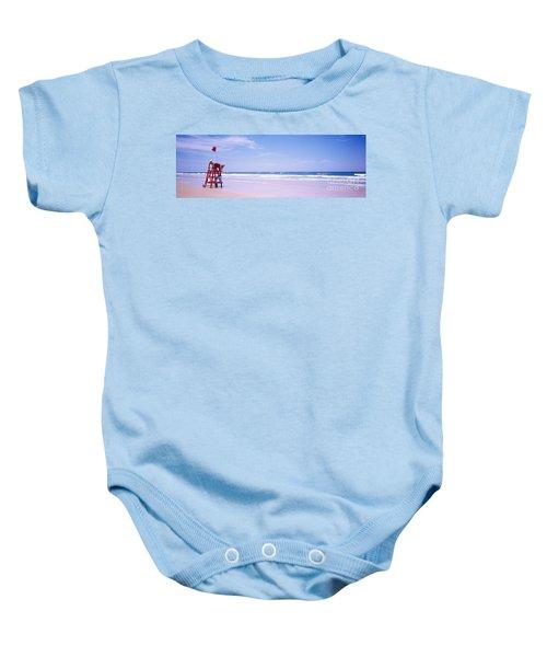 Daytona Beach Fl Life Guard  Baby Onesie