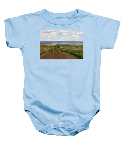 Dirt Road To Forever Baby Onesie