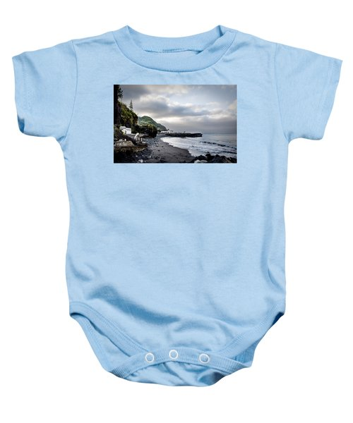 Down By The Sea  Baby Onesie
