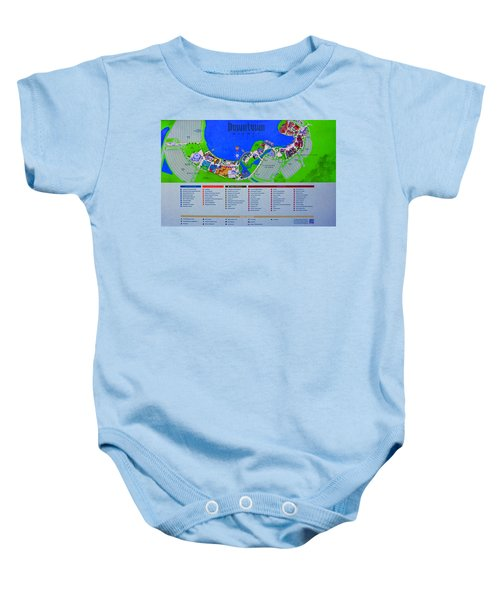 Downtown Disney Florida Map.Downtown Disney Baby Onesies Pixels