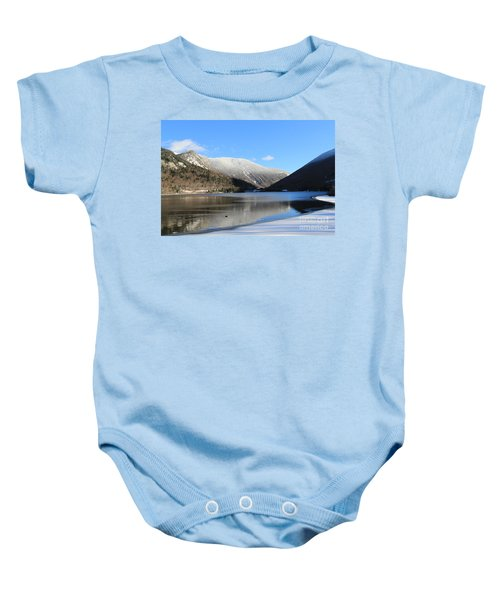 Echo Lake Franconia Notch Baby Onesie