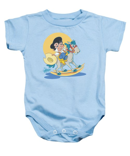 Elvis - Yip E Baby Onesie by Brand A