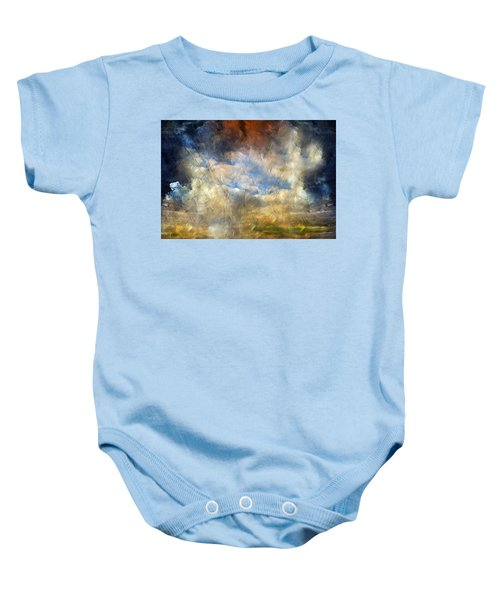 Eye Of The Storm  - Abstract Realism Baby Onesie