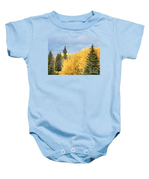 Fall Near Ya Ha Tinda Baby Onesie
