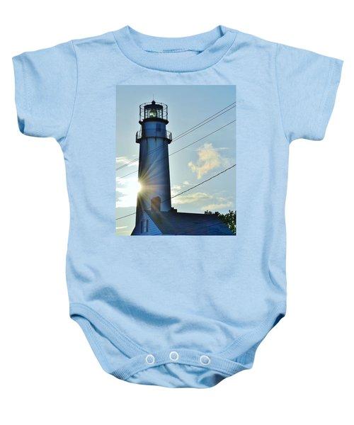 Fenwick Island Lighthouse - Delaware Baby Onesie