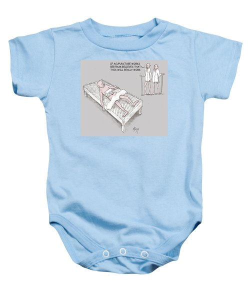 Feral Coot Get The Points Baby Onesie