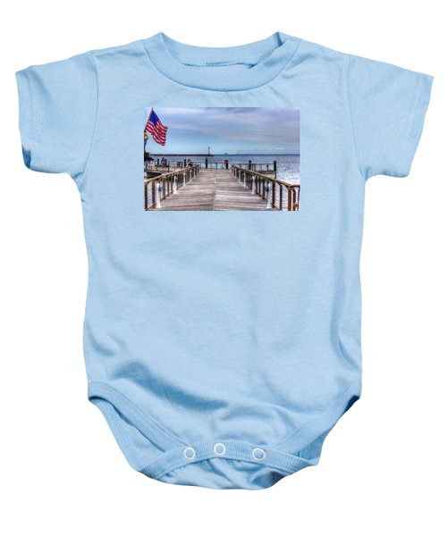 Ferry I See You Baby Onesie