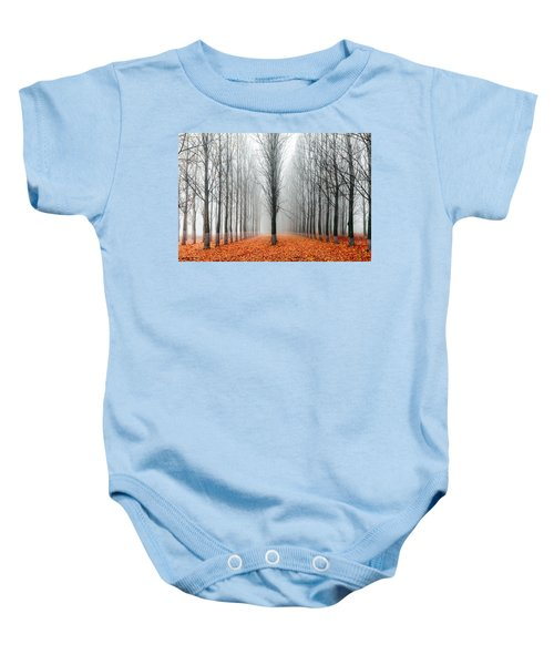 First In The Line Baby Onesie