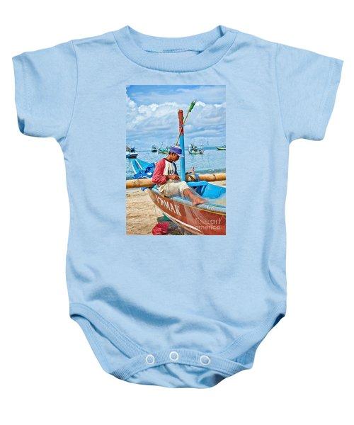 Fisherman Baby Onesie