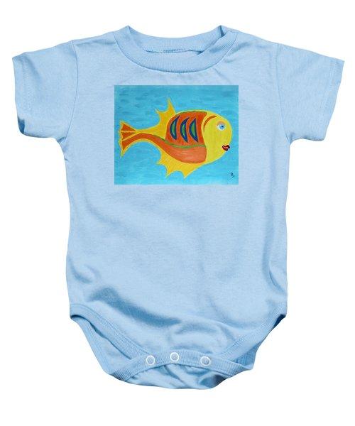 Fishie Baby Onesie