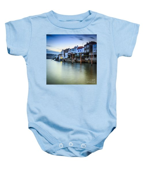 Fishing Town Of Redes Galicia Spain Baby Onesie