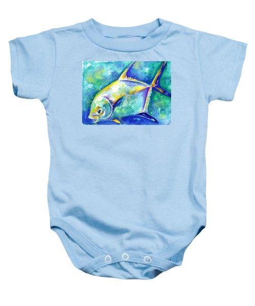 Florida Keys Permit Baby Onesie