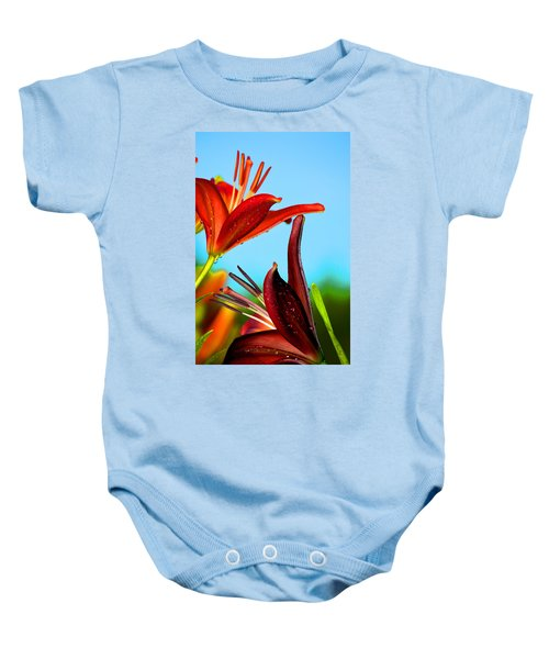For The Love Of Lillies Baby Onesie