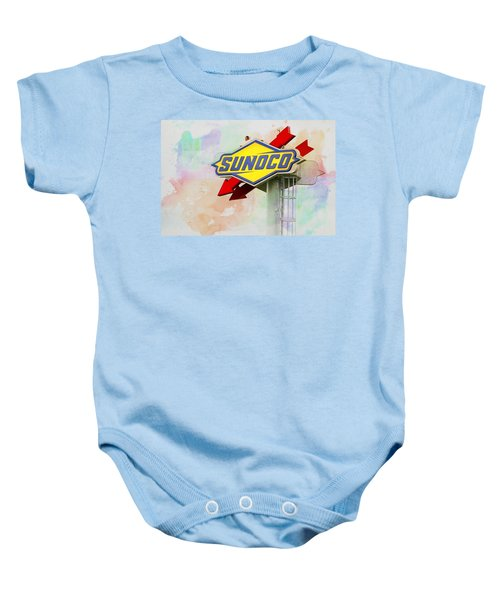 From The Sunoco Roost Baby Onesie