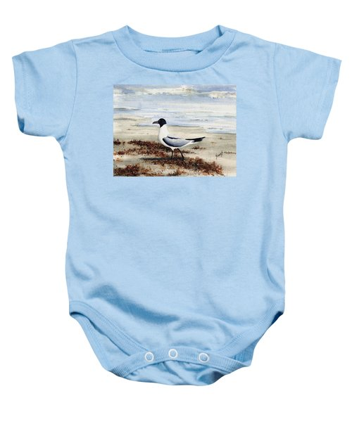 Galveston Gull Baby Onesie