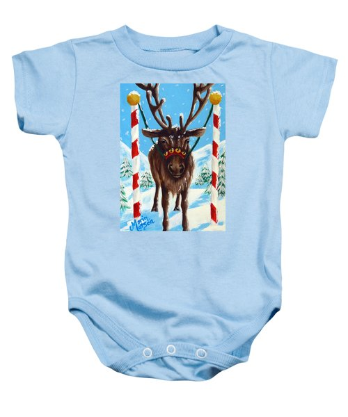 Getting Ready For The Big Day Baby Onesie