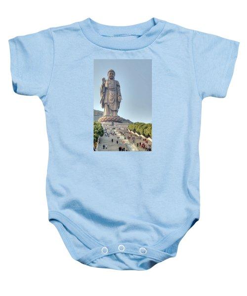 Giant Buddha Baby Onesie