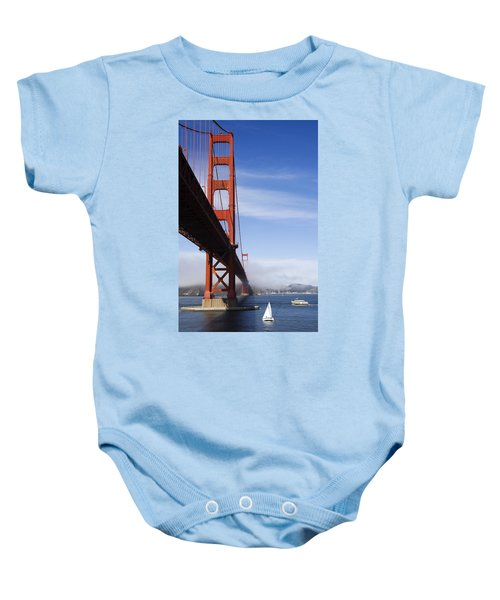Golden Gate Bridge Baby Onesie