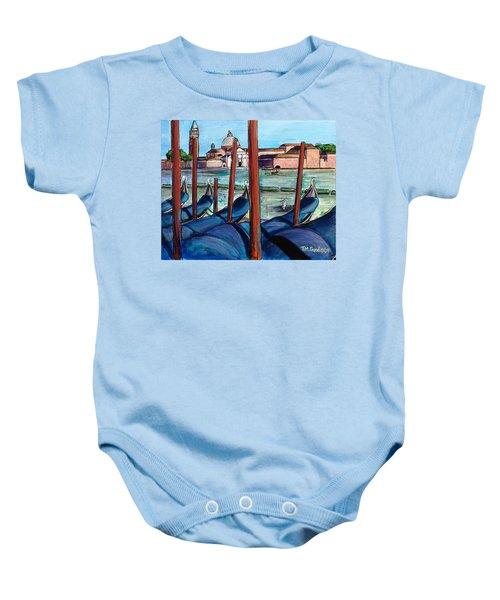 Gondolas Baby Onesie