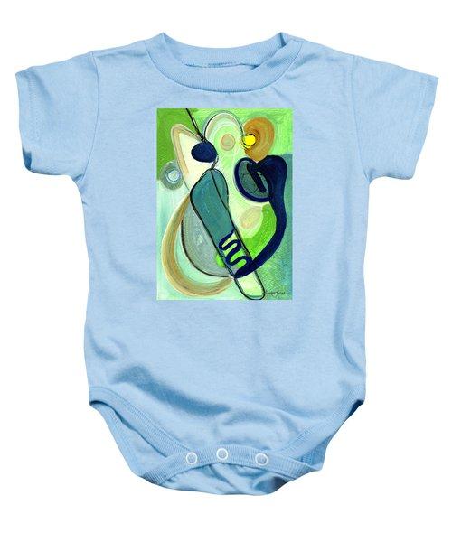 Gorgeous In Green Baby Onesie