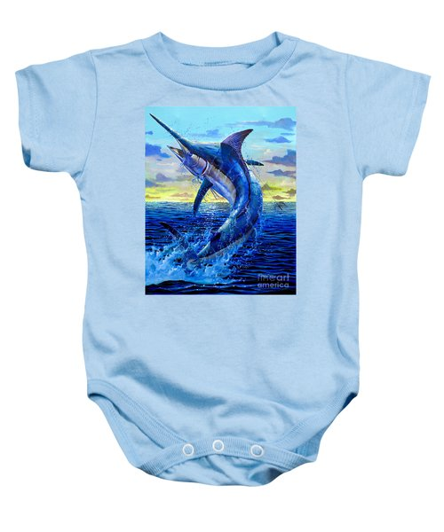Grander Off007 Baby Onesie by Carey Chen