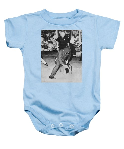 Harlem Race Riots Baby Onesie by Underwood Archives