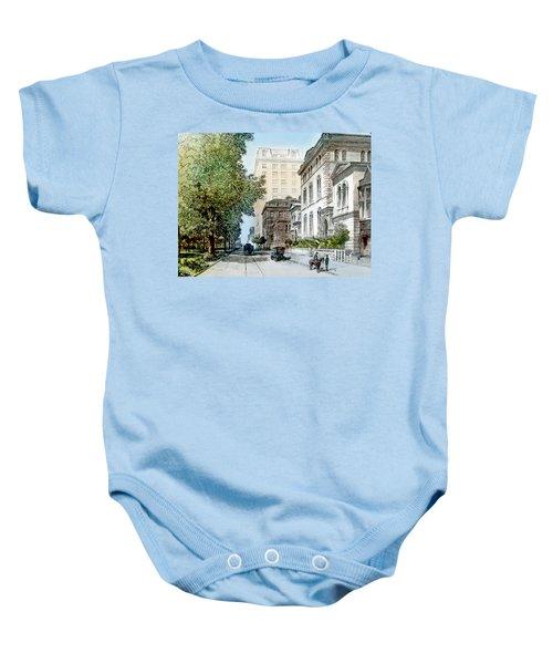 Harrison Residence East Rittenhouse Square Philadelphia C 1890 Baby Onesie