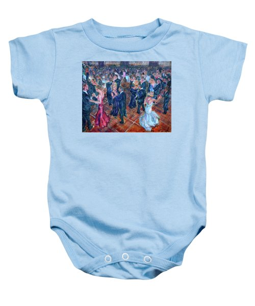 Having A Ball - Dancers Baby Onesie