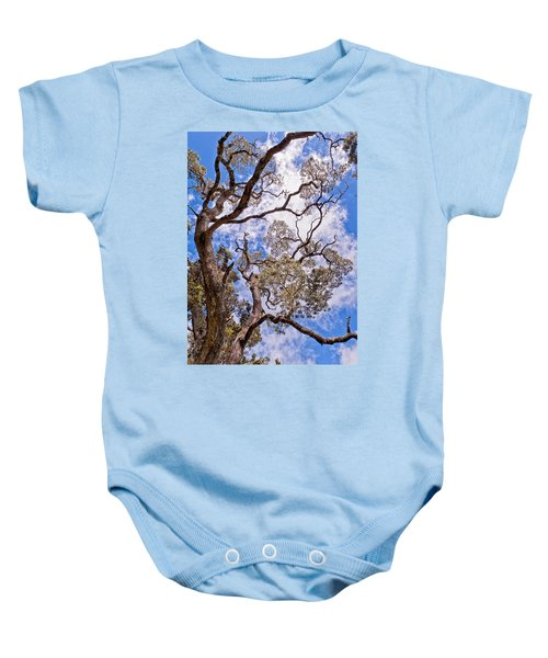 Baby Onesie featuring the photograph Hawaiian Sky by Jim Thompson