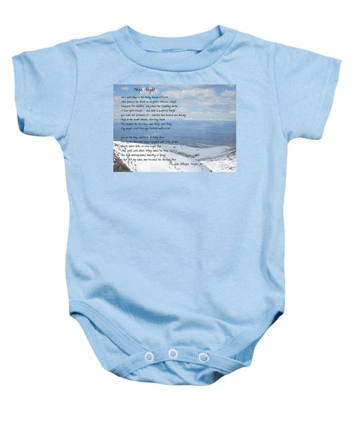 High Flight Baby Onesie