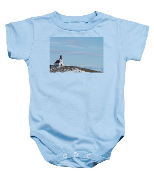Higher Believes Baby Onesie