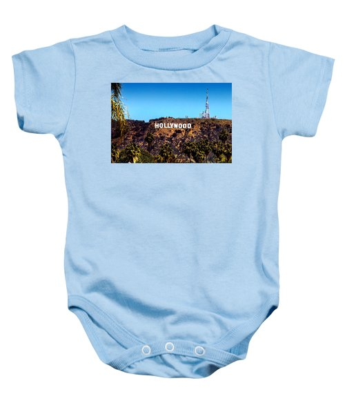 Hollywood Sign Baby Onesie