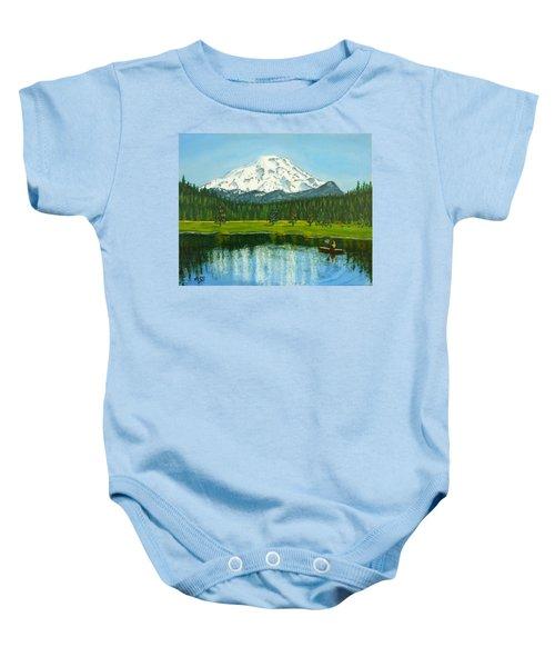 Hosmer Lake Baby Onesie