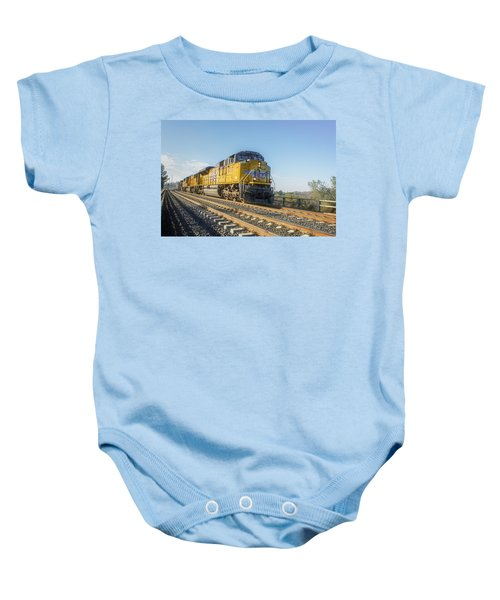 Baby Onesie featuring the photograph Hp 8717 by Jim Thompson