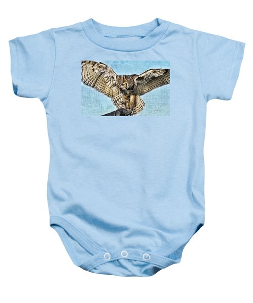 I Want To Fly Baby Onesie
