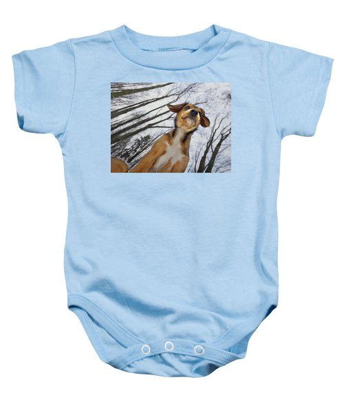 I Wish I Could Fly Baby Onesie
