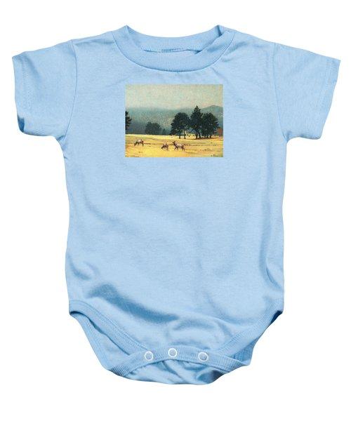 Impression Evergreen Colorado Baby Onesie