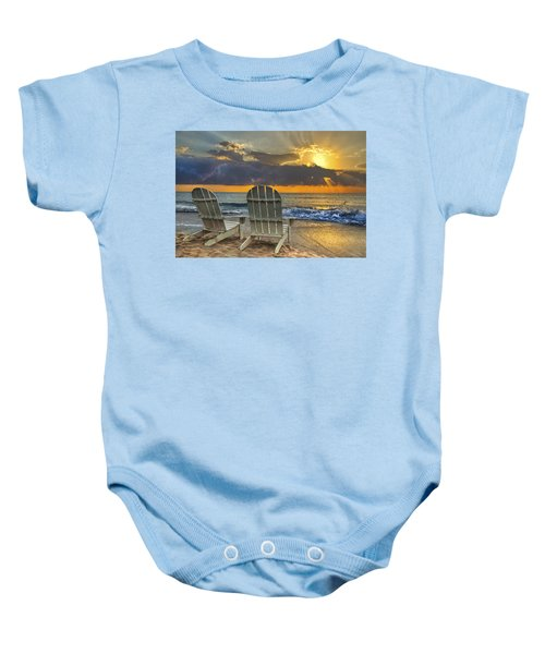 In The Spotlight Baby Onesie