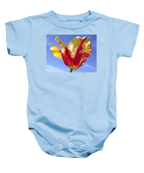 Into The Sky Baby Onesie