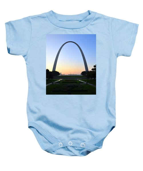 Jefferson National Expansion Memorial Baby Onesie