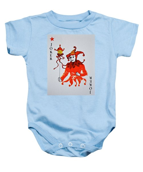 Jokers Wild Baby Onesie