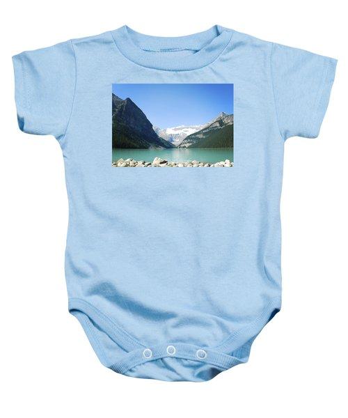 Lake Louise Alberta Canada Baby Onesie