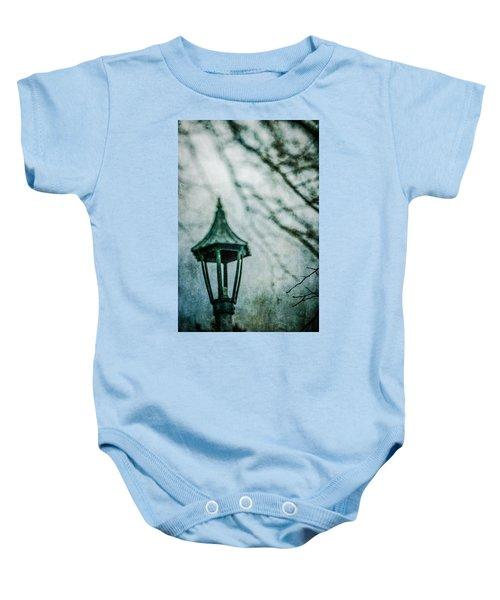 Lamp In Winter Baby Onesie