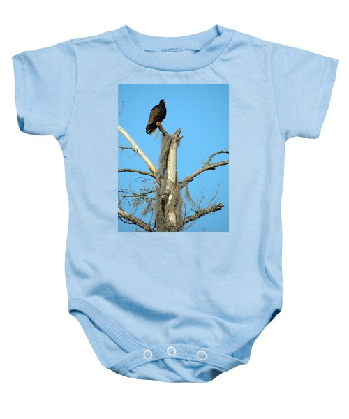 Larry Buzzard Vulture Baby Onesie