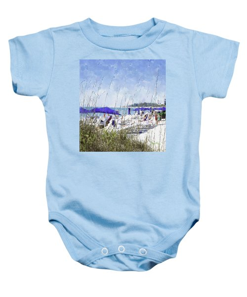 Late Winter Early Spring When Everybody Goes To Florida Baby Onesie