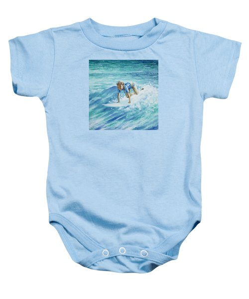 Learning To Fly Baby Onesie