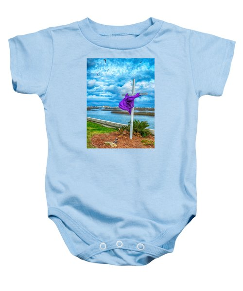 Lentin Cross Baby Onesie by Bill Barber