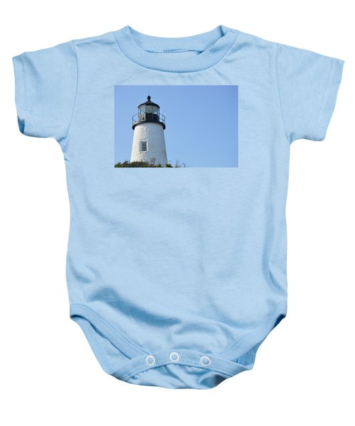 Lighthouse On Clear Day Baby Onesie