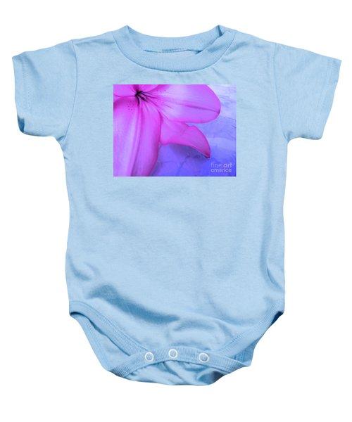 Lily - Digital Art Baby Onesie