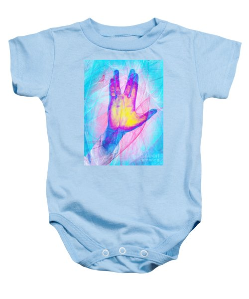 Live Long And Prosper 20150302v1 Baby Onesie